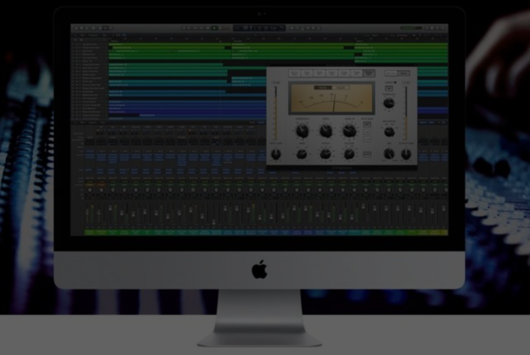 Logic Pro X Music Production Camp Workshop Berlin Mixing Recording